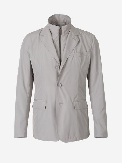 Overlay Technical Blazer