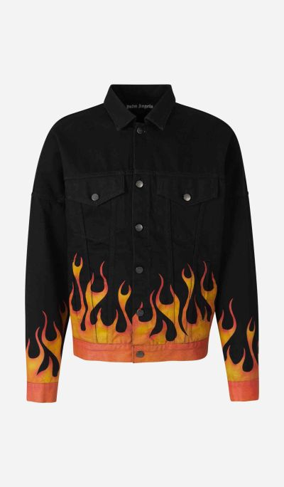 Chaqueta Denim Burning