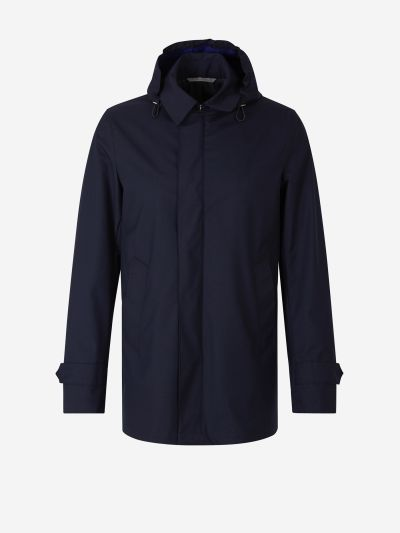 Rain And Wind Tech Jacket