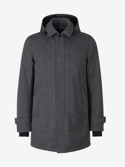 Laminar Hooded Coat