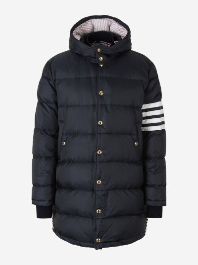 4 Stripes Padded Coat