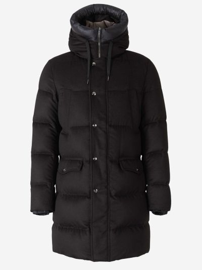 Jaqueta Encoixinada Llarga