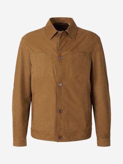 Nobuck Leather Jacket