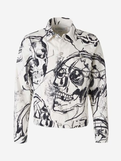Skulls Denim Jacket