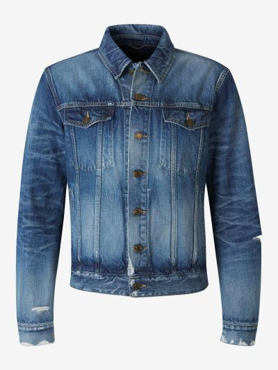 California blue denim jacket
