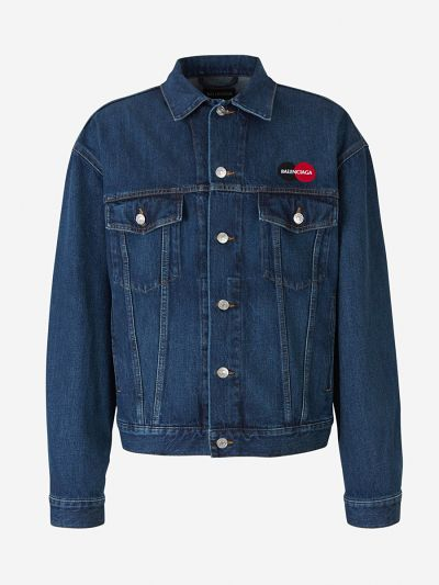 Uniform Logo Denim Jacket