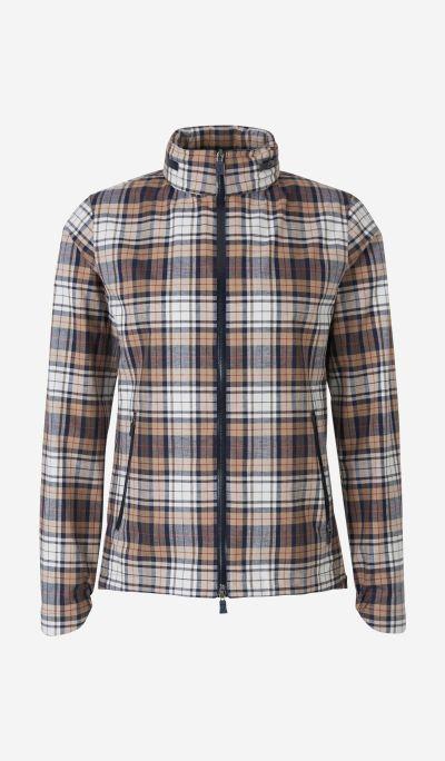 Checked Laminar Jacket