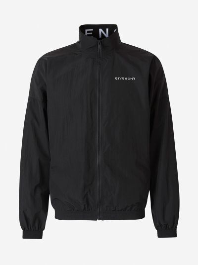 Technical Zippered Jacket Logo