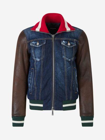Combined Denim Jacket