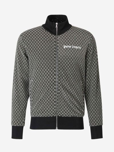 Printed tracksuit jacket