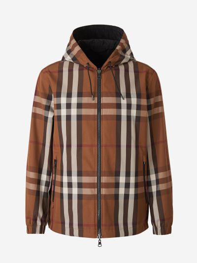 Checked Reversible Jacket