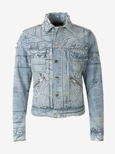 Denim Bandana Jacket