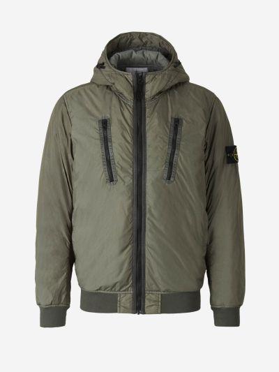 Dyed Crinkle Jacket