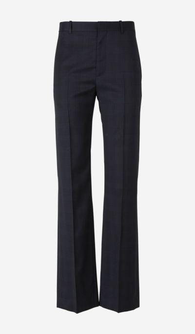 Virgin Wool Twill Trousers
