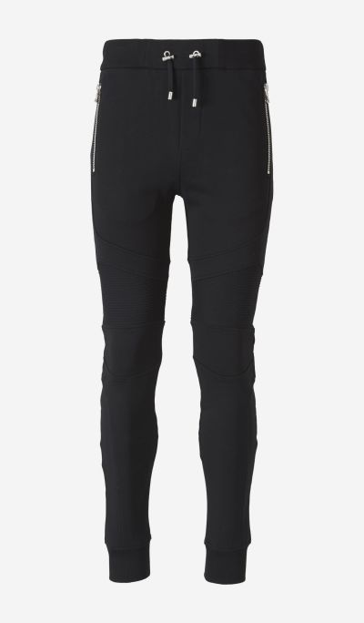 Zipped Knit Joggers