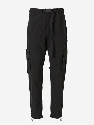 Nylon Cargo Pants