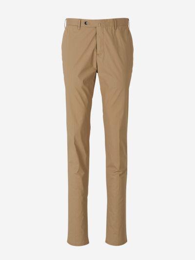 Poplin Chino Trousers