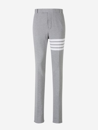 Plush 4 Stripes Trousers