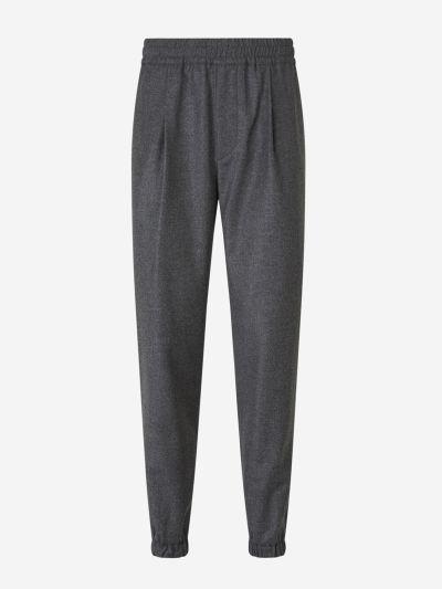 Pantalons Franel·la Llana