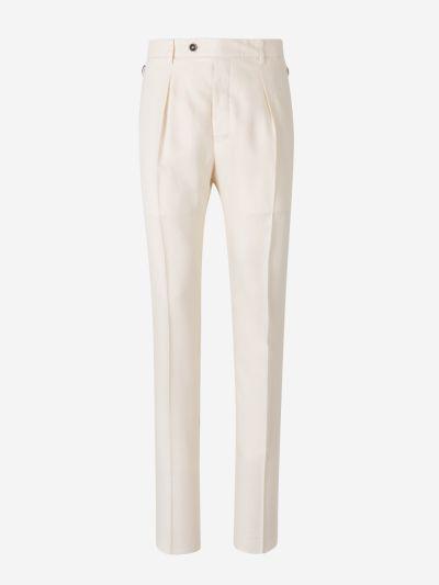 Linen Twill Trousers