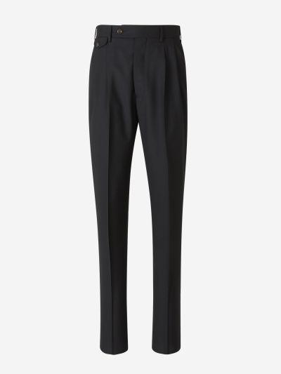 Double Gripper Wool Pants