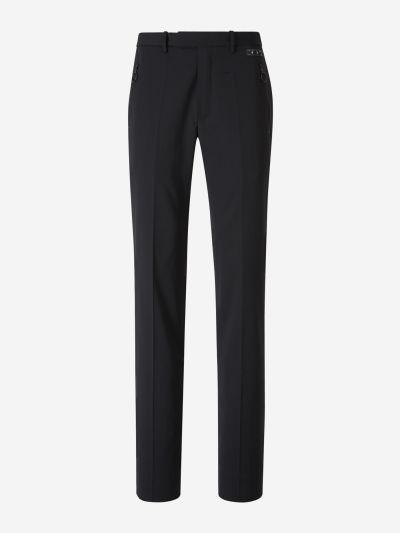Satin Trim Trousers