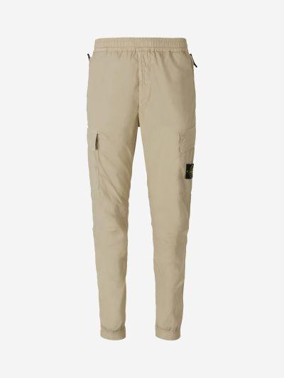 Pantalones Cargo Ligeros Logo