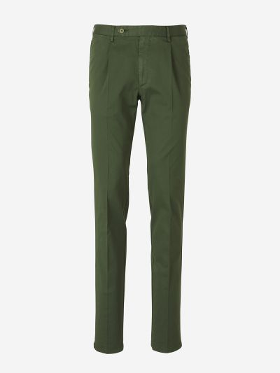 Cotton Dart Trousers