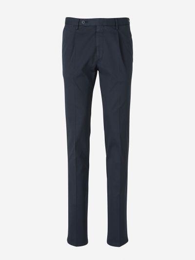 Pantalones Pinzas Algodón