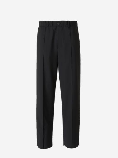 Elastic Waist Formal Trousers