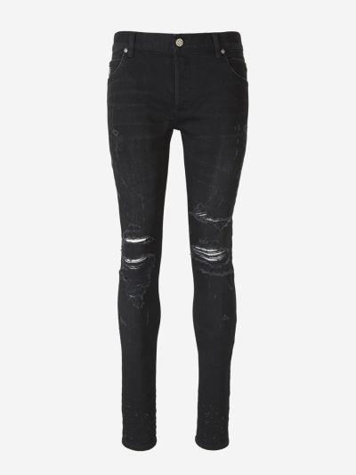 Torn Skinny Jeans