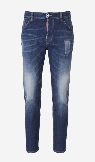 Jeans Slim Desgastados