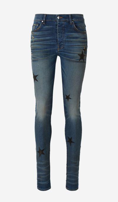Jeans Pegats Pell Estrella