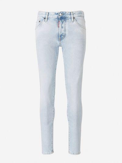 Bleached Skinny Dan Jeans