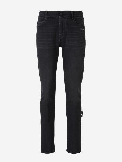Skinny Diag Jeans