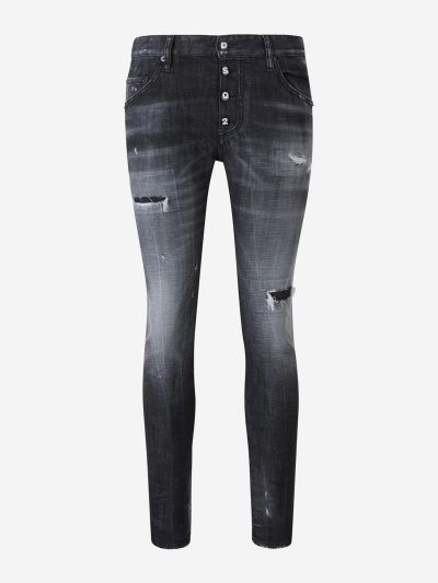 Black Wash Slim Jeans
