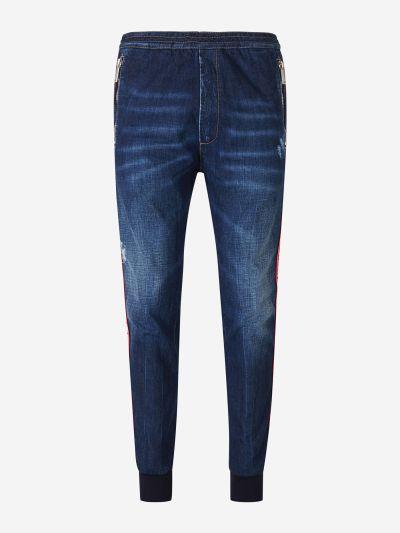 Side Logo Jeans