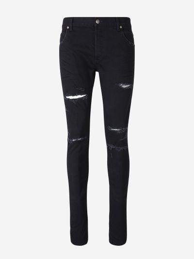 Jeans Skinny Trencats