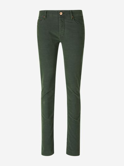 Velvet Cotton Trousers