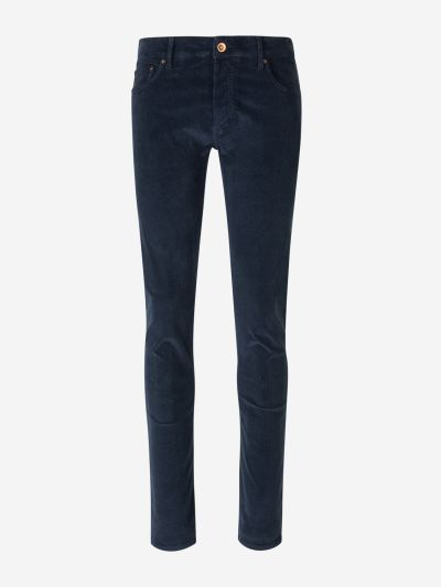 Slim Corduroy Trousers