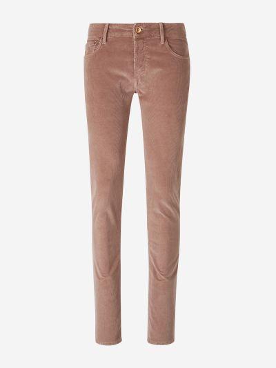 Pantalons Slim Pana