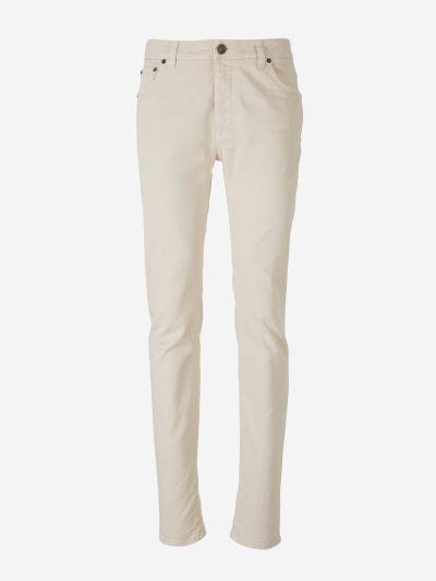 Regular Fit Cotton Jeans