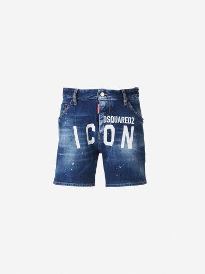 Maxi Logo Bermuda shorts