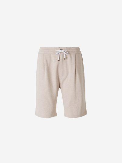 Heather Cotton Bermuda shorts