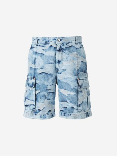 Camouflage Texture Shorts