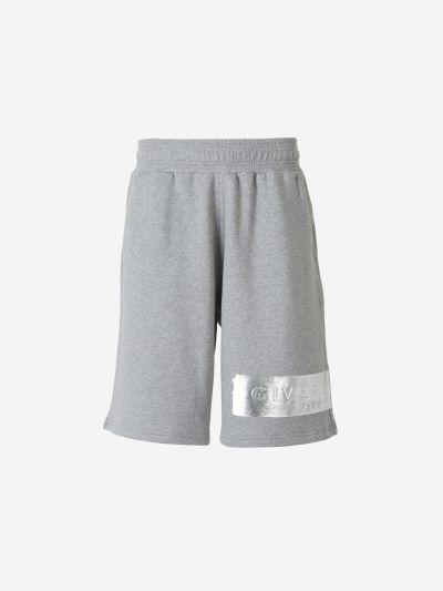 Silver logo Shorts