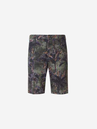 Palms Print Shorts