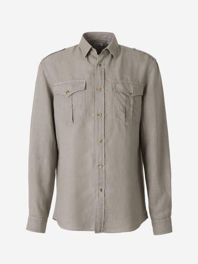 Cotton Linen Saharan Shirt