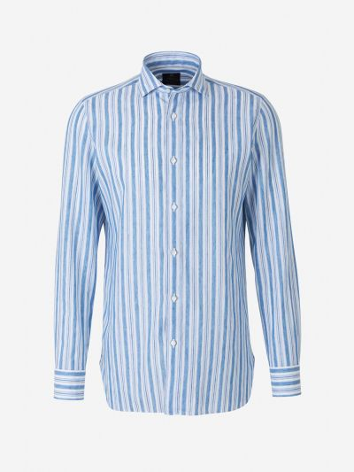Striped Pattern Shirt