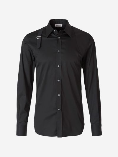 Harness poplin shirt